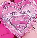 Supergirl Birthday Mylar Balloon