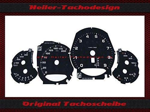 Tachoscheibe Porsche 911 991 PDK Bj.2013 Mph zu Kmh
