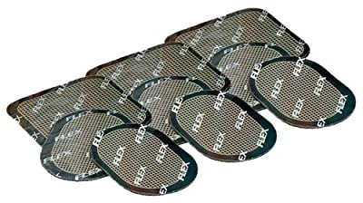 Slendertone Replacement Gel Pads For Flex Abdominal And Gymbody Belts 3 Sets 9 Pads by Slendertone