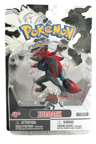 Jakks Pacific Pokemon Black and White Figure Single Pack Volume 1 - Zoroark - 1