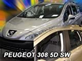 wind deflectors PEUGEOT 308 SW 5doors 2008 > 4parts   wind Peugeot deflectors 5doors 4parts 2008