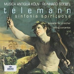 Telemann: Sinfonia Spirituosa / String Concertos