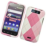 Cell Accessories For Less (TM) LG CONNECT 4G/MS840/Viper 4G/LS840 FABRIC CASE PK ARGYLE 406 - By TheTargetBuys