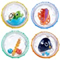 Munchkin Float and Play Bubbles Bath Toy, 4 Count from Munchkin