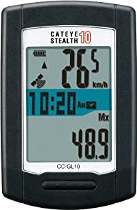 CatEye Stealth 10 GPS Bicycle Computer - CC-GL10 by CATEYE