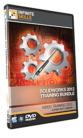 Solidworks 2012 Training DVD - Discounted Bundle - 18.75 Hours