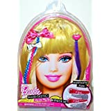 Barbie Hair Tastic Wig Hair Play Set Blonde Dress Up 8 Pieces