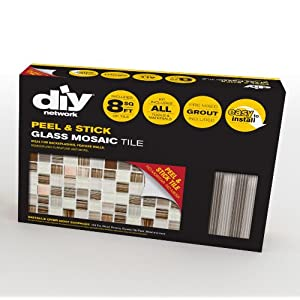 peel stick tiles 8 ft backsplash kit bamboo