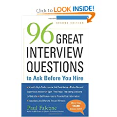 96 Great Interview Questions to Ask Before You Hire (9780814413517)