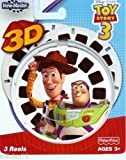FISHER PRICE VIEW-MASTER 3D REELS TOY STORY 3