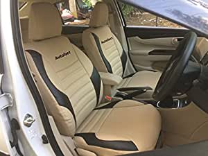 Autofact PU Leather Car Seat Covers For Maruti Ciaz In