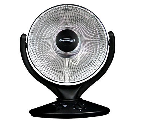 B00009RAVP Soleus Air HE08-R9-21  Oscillating Reflective Heater