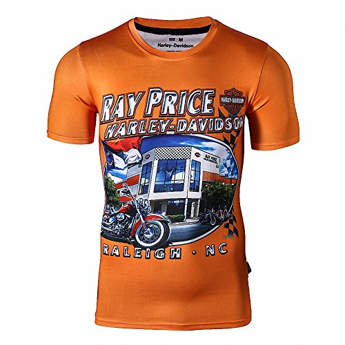 Awesome Crew Collar Fitness MotoGP Men T Shirts Harley Davidson S-XXL (Bloodbath Juice compare prices)