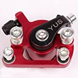 Bremssattel Bremse für Mach1 Benzin oder Elektro E-Scooter / Bremsanlag Rot-Metallic Picture