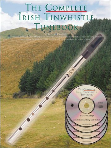 The complete Irish tinwhistle tunebook (4CD audio)