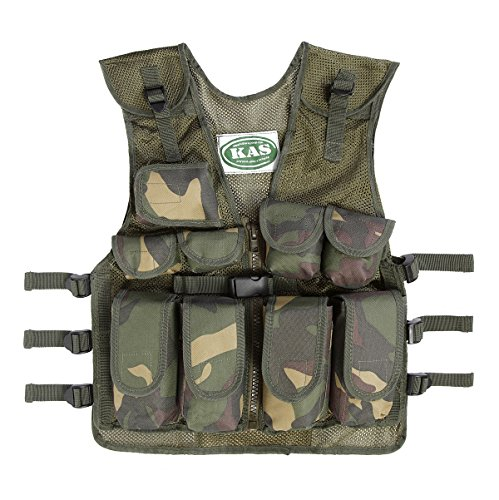 Kids Army Camouflage Combat Vest - Fits Ages 5-13 Yrs (Boy Toys 10 Year Old compare prices)