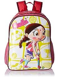 Chhota Bheem Nylon Dark Pink School Bag (GGSCB-CB12B)