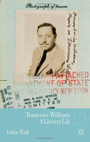 Tennessee Williams: A Literary Life (Literary Lives)
