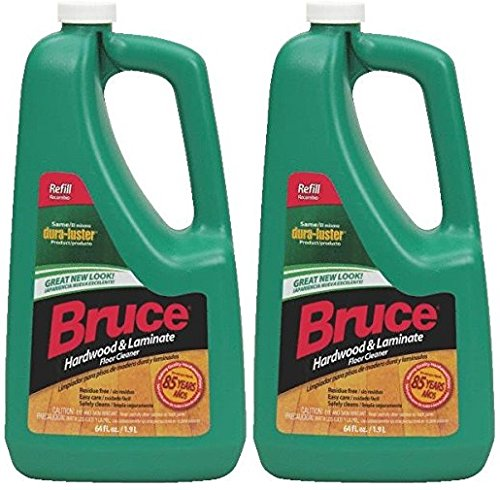 Bruce Hardwood & Laminate Floor Cleanr - 64oz Refill - 2 Pack (Bruce Floor Cleaner Mop Covers compare prices)