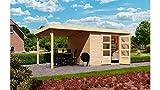 KARIBU Gartenhaus Arnis 3