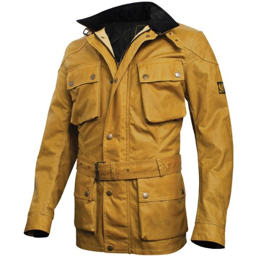 Belstaff Trialmaster wax jacket antique gold - XL