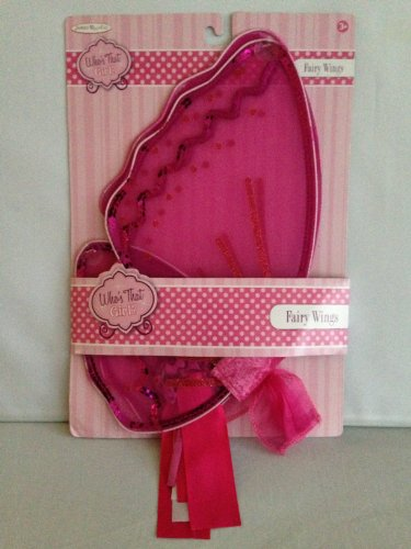 Jakks Pacific Who's That Girl? Pink Fairy Wings - 1