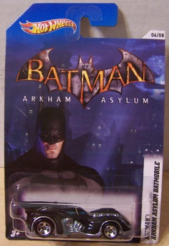 Hot Wheels Batman Arkham Asylum Batmobile 06/08