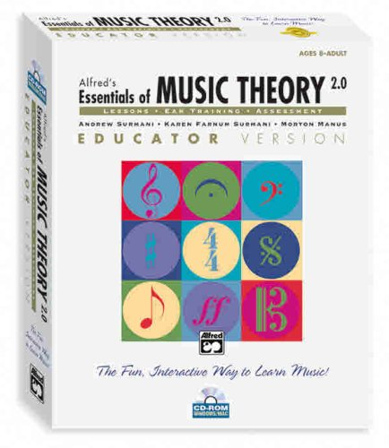 Alfred's Essentials of Music Theory Volumes 2 & 3 Box Set