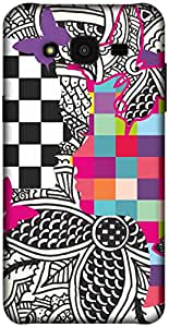 The Racoon Lean printed designer hard back mobile phone case cover for Samsung Galaxy J5. (Ordinary L)