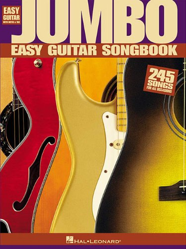 Jumbo Easy Guitar Songbook (Easy Guitar with Notes &...