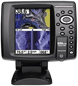 Humminbird 409470-1 698ci HD SI Internal GPS Sonar Combo Fishfinder with Side Imaging by Humminbird