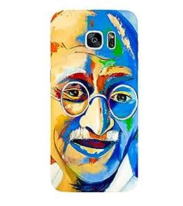 Kingcase Printed Back Case Cover For Samsung Galaxy S7 Edge - Multicolor