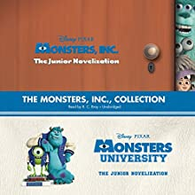 The Monsters, Inc., Collection: Monsters, Inc., and Monsters University: The Junior Novelizations (       UNABRIDGED) by Disney Press, Kiki Thorpe, Irene Trimble Narrated by R. C. Bray