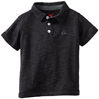 Quiksilver Baby-boys Infant Gragg Polo, Black, 6-9 Months