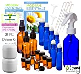 Loving Essential Oils Deluxe Kit for Aromatherapy with Essential Oil Guide Reference Material (31 piece)