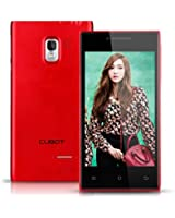 CUBOT GT72+ GT72 PLUS 3G Smartphone 4,0 Pouces Ecran 512Mo RAM+4Go ROM Android 4.4 KitKat Dual Core MTK6572 1.2GHz téléphone portable Dual SIM 5.0MP Appareil photo WIFI Bluetooth pour Dommel Mobistar orange SFR Bouygues Virgin Free ISYS Lebara Numericable etc(Rouge)