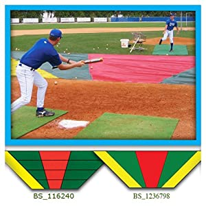 Bunt Zone Infield Protector and Bunt Trainer - Medium by Aer-Flo