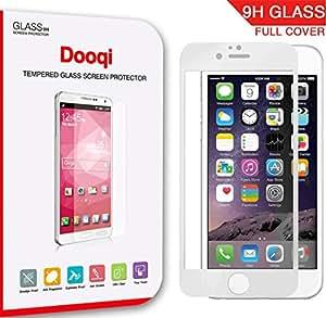 For Apple iPhone 6 PLUS 5.5 , Dooqi(TM) Full-Cover Premium Tempered Glass Screen Protector Film for Apple iPhone6 PLUS 5.5 INCH, Full Front Body Cover, Anti-Scratch, Anti-Bubble, Anti-Fingerprint, No Rainbow Screen, 9H Hardne