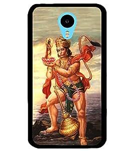 ColourCraft Lord Hanuman Design Back Case Cover for MEIZU M1 NOTE