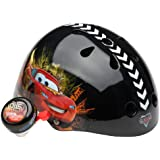 Cars Unisex-Child Hardshell Helmet with Bell (Black)