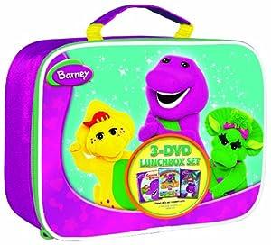 Barney Lunchbox Gift Set (Three-pack)