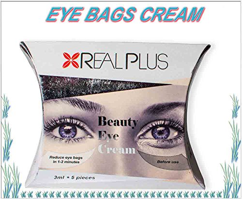 Beauty eye cream, eye bag and dark circles remover. Removes the eye bags and dark circles within 2 minutes!!! For man and women. 5 pieces x 3ml.