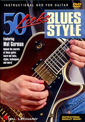 DVD : Mat Gurman - 50 Licks Blues Style (DVD)
