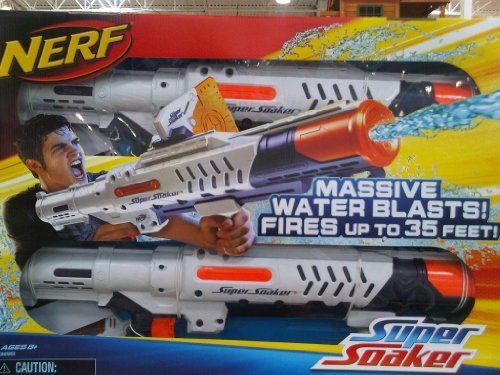 Huge save onwater nerf gun Super Soaker Hydro Cannon 2 Pack
