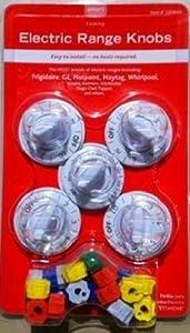 Smart Choice Electric Range Knob Kit, White