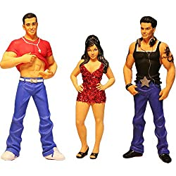 Jersery Shore: Snooki, DJ Pauly, The Situation Ornament Bundle