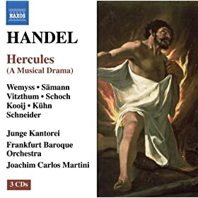 Hercules, HWV 60: Act I: Recitative: Now farewell, arms! From hence, the tide of time (Hercules)