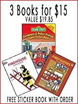3 FOR $15 CHILDREN'S BOOK SET - 4TH STICKER BOOK FREE