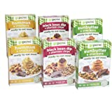 GoPicnic Ready-to-Eat Meals Tasty Favorites Variety Pack - Gluten-Free, Vegan (Pack of 6)