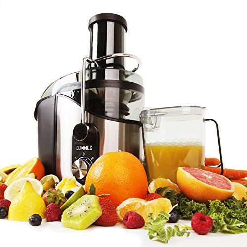 Duronic JE8 - Licuadora de 800W ideal para zumos fresco caseros con Vaso de 1L *2 años de garantía gratis*